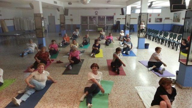 Yoga y estiramiento